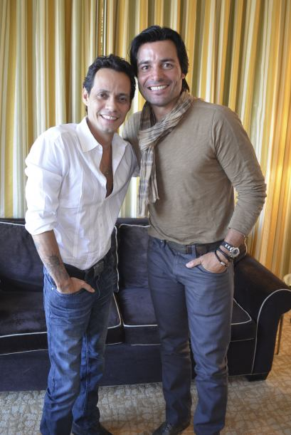 ¿Cuánto mide Chayanne? - Altura real : 1,85 - Real height Marc-Anthony-y-Chayanne
